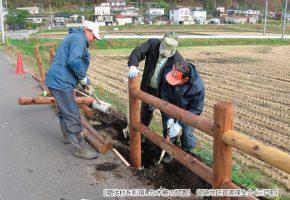No.34「間伐林を利用した木柵の設置」留崎地区資源保全会(三戸町)